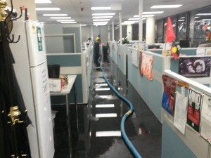 Flood Response in CBD Multi-storey Building